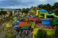 The Colorful Settlement In Riverside
