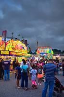 Summer Night at the Maryland State Fair