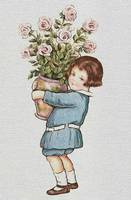 Child With Flower Vase