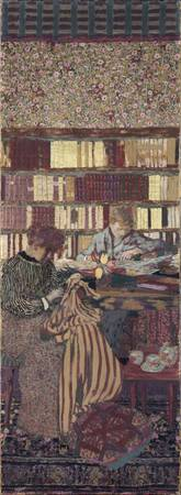 Figures in an Interior ,Edouard Vuillard 2