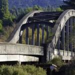"""Blue lake bridge"" by heartbringer"