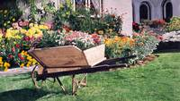 THE GARDENERS WHEELBARROW