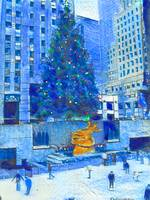 Blue Christmas New York City
