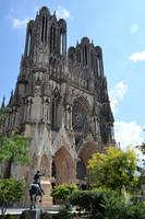 Photogenic cathedral of Reims