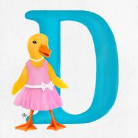 d is for duckling