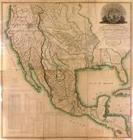 Map of Mexico, Louisiana, and the Missouri Territo