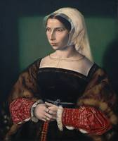 1535 Anne Stafford by Ambrosius Benson