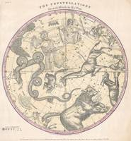 Burritt - Map of the Northern Hemisphere (1856)