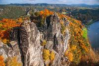 Golden Autumn in Saxon Switzerland