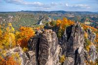 Sandstone Pinnacles of Saxon Switzerland