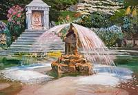 SPRING FOUNTAIN & POND fa