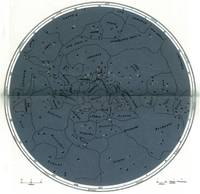 Otto's Encyclopedia - Map of the Southern Sky 1897