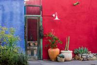 Colorful Historic Spanish Architecture - Tucson