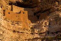 Montezuma Castle Indian Cliff Dwelling - Arizona