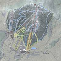 Jay Peak Resort Trail Map