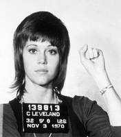 Jane Fonda Mug Shot Horizontal