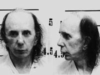 Phil Spector Mug Shot Horizontal Black And White 2