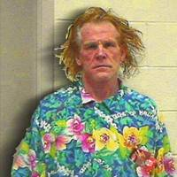 Nick Nolte Mugshot Mug Shot Painting Square