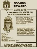 Unabomber Ted Kaczynski Wanted Poster 2