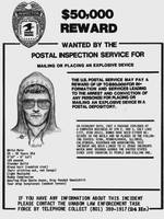 Unabomber Ted Kaczynski Wanted Poster 1