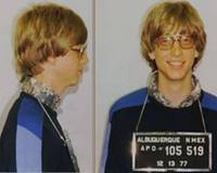 Bill Gates Mug shot Horizontal Color