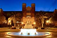 FSU Campus Westcott Fountain