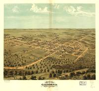 Bird's eye view of California, Moniteau County, Mi