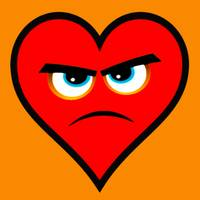 Heart Series Love Angry Hearts