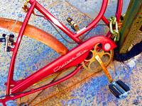 Vintage Street Bicycle Photo Detail
