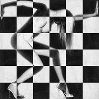 Survive Nude Woman Checkered 4