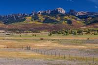 Courthouse Mountains And Chimney Rock Peak