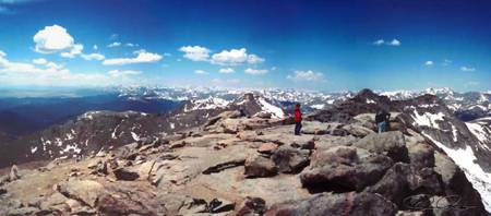 Summit of Mount Evans, Colorado (2000)