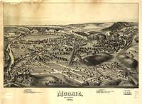 Aerial View of Moosic, Pennsylvania 1892