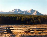 The Sawtooth Range, Sawtooth NRA, Idaho