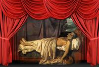 Lord Byron On His Death-bed, Joseph Denis Odevaere