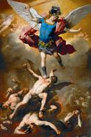Luca Giordano's painting of St. Michael the Archan