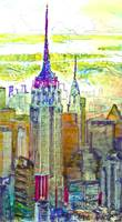 New York City, Art Deco City Spires