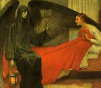 Marianne Stokes - Death and the Maiden 1900
