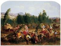 Matteson Tompkins Harrison Hop-Picking-1862