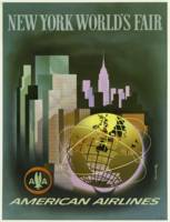 New York World's Fair Vintage Travel Poster