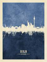 Berlin Germany Skyline
