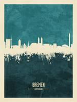 Bremen Germany Skyline