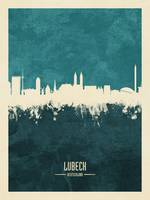 Lubeck Germany Skyline