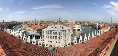 venice roof top panorama