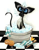 Clean Kitty Cat Series Bubble Bath