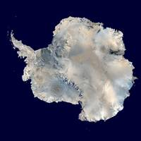 Antarctica from Blue Marble