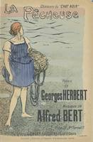 Sheet music La pécheuse by Georges Herbert and Alf
