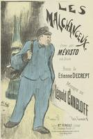 Sheet Music Les malchanceux by Etienne Decrept and