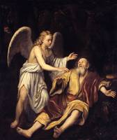 Sir Godfrey Kneller Elijah and the Angel 1672
