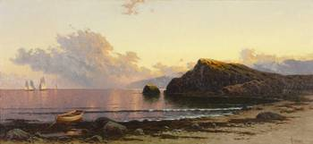 Sunset_on_the_Coast_by_Alfred_Thompson_Bricher,_18
